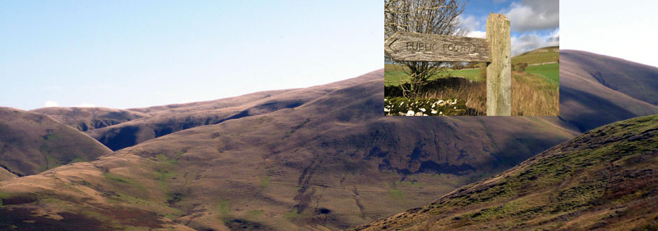 The Howgills and the Coast to Coast route